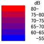 sound pressure level contour map